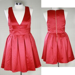 Dresses & Skirts - GRADUATION DRESS IN SATIN RED